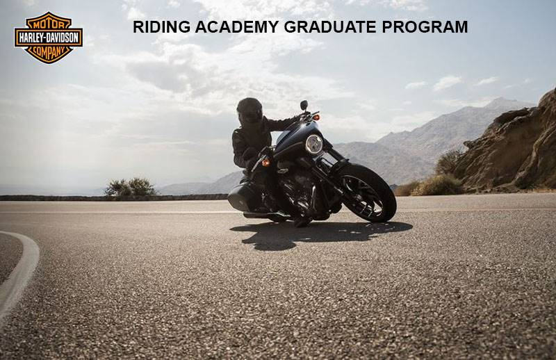 Harley-Davidson H-D™RIDING ACADEMY GRADUATE PROGRAM