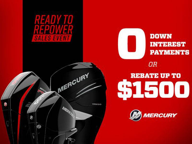 Mercury Marine - Ready to Repower Sales Event