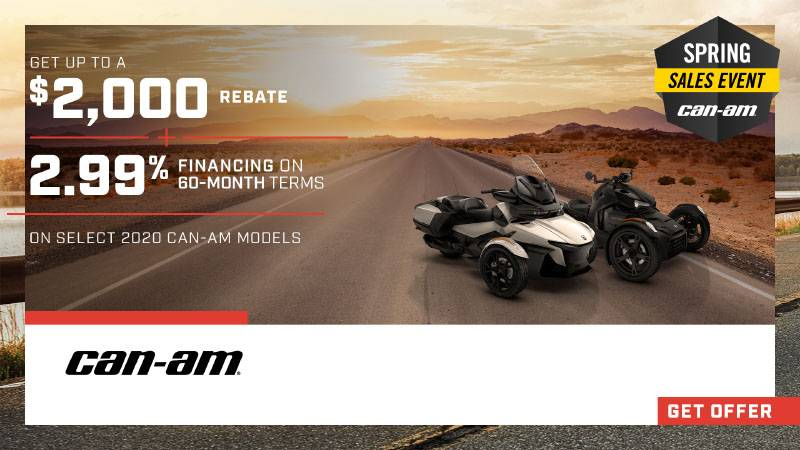 Can-Am On-Road - Spring Sales Event