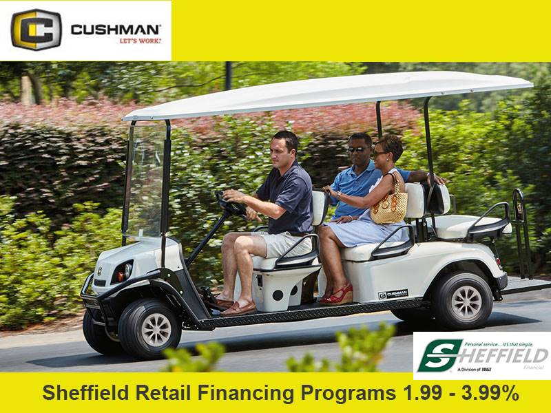 Cushman - Sheffield Retail Financing Programs 1.99 - 3.99%