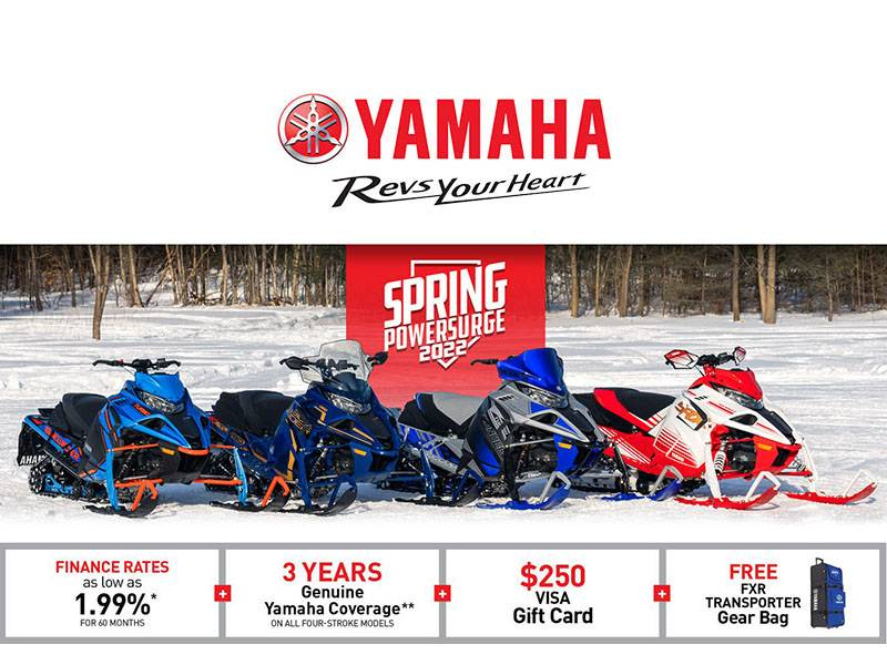 Yamaha - 2022 Spring Power Surge