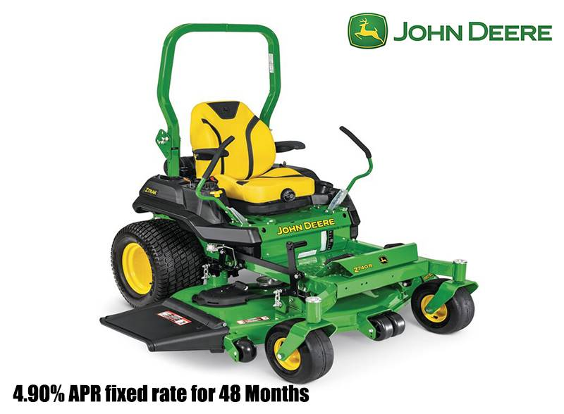 John Deere - 4.90% APR fixed rate for 48 Months on Z700 Series