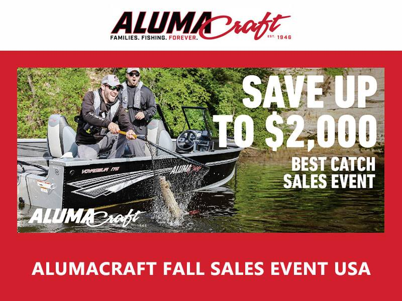 Alumacraft - Fall Sales Event