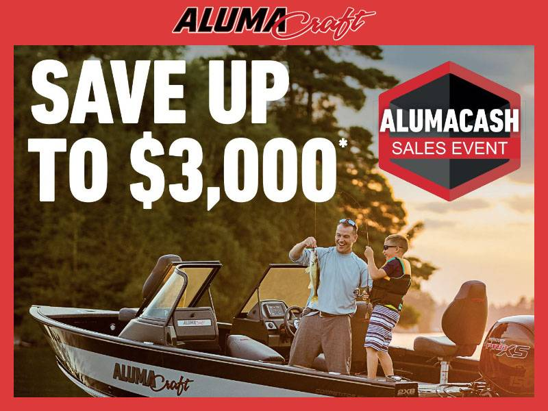 Alumacraft - Alumacash Sales Event