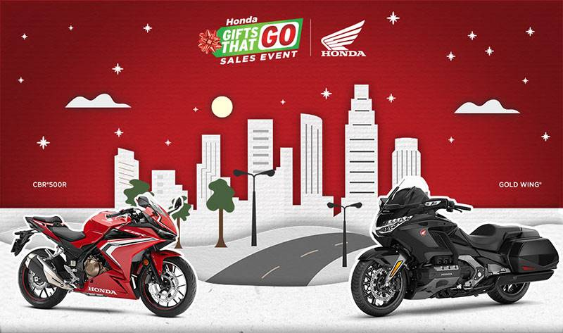 Honda - Gifts That Go Sales Event - All Motorcycle and Scooter