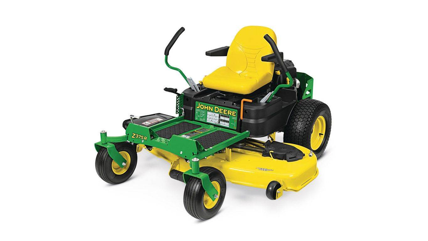 John Deere 4.90% APR fixed rate for 48 months on New John Deere Z300 Series Residential ZTrak Zero-Turn Mowers