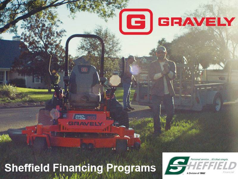 Gravely USA - Sheffield Financing Programs