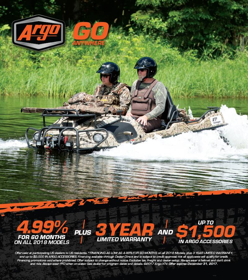 Argo Go Anywhere XTV