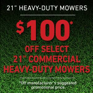 Toro - $100 USD Off Select Heavy Duty Mowers