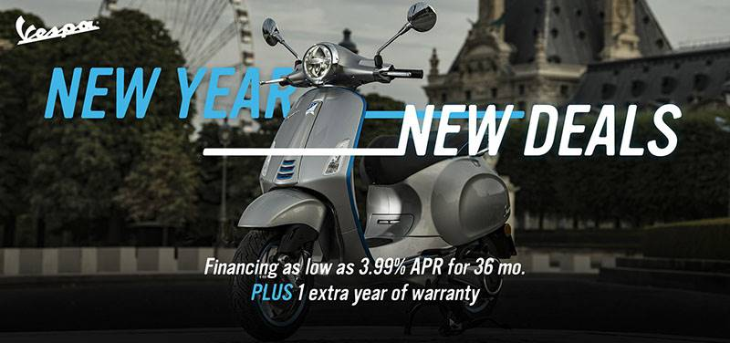 Vespa - New Year, New Deals