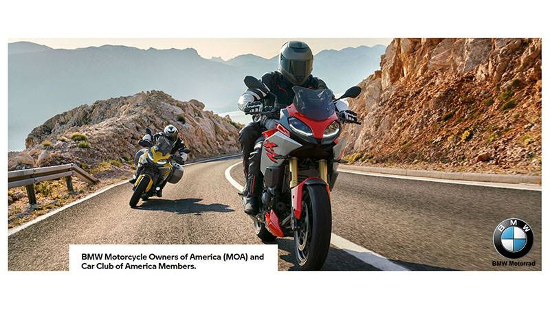 BMW - Motorcycle Owners of America (MOA) and Car Club of America (CCA) Members