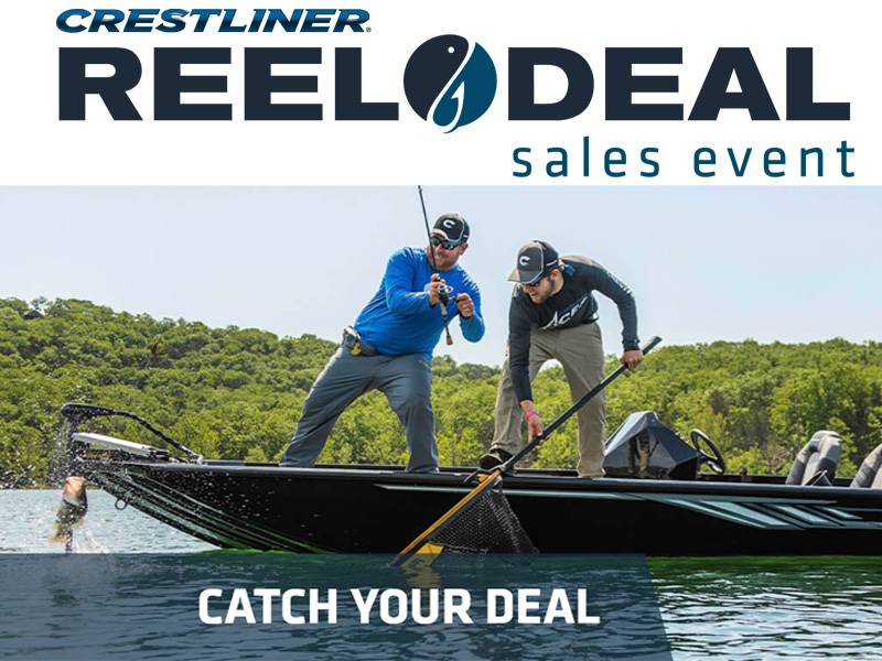 Crestliner - Reel Deal Sales Event