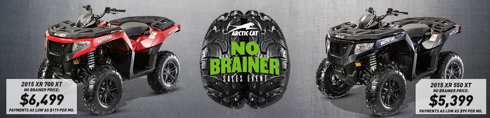 Arctic Cat - No Brainer Sales Event - ATVs - MY2015-2016