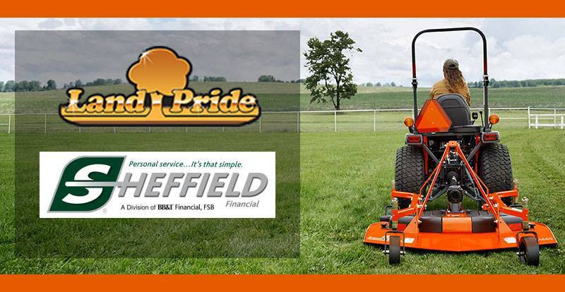 Land Pride - Sheffield Financial - Lawn Mower