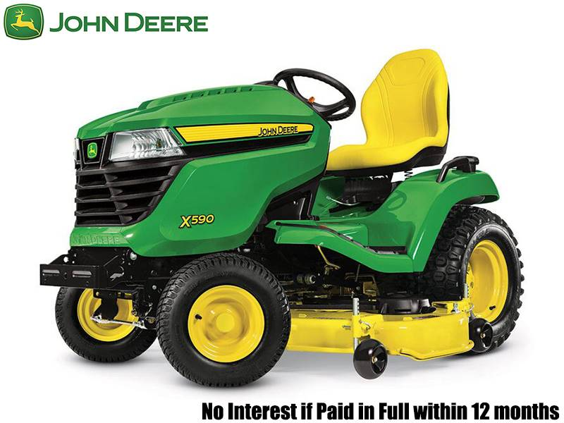 John Deere - No Interest if Paid in Full within 12 months on  X500 Select Series Lawn Tractors