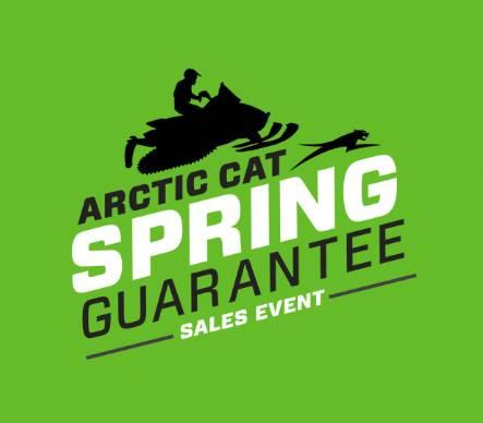 Arctic Cat Spring Guarantee Sales Event - Snowmobiles - MY2018