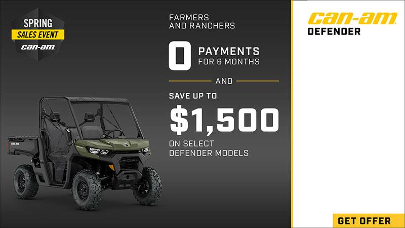 Can-Am - Spring Sales Event - Farmers And Ranchers