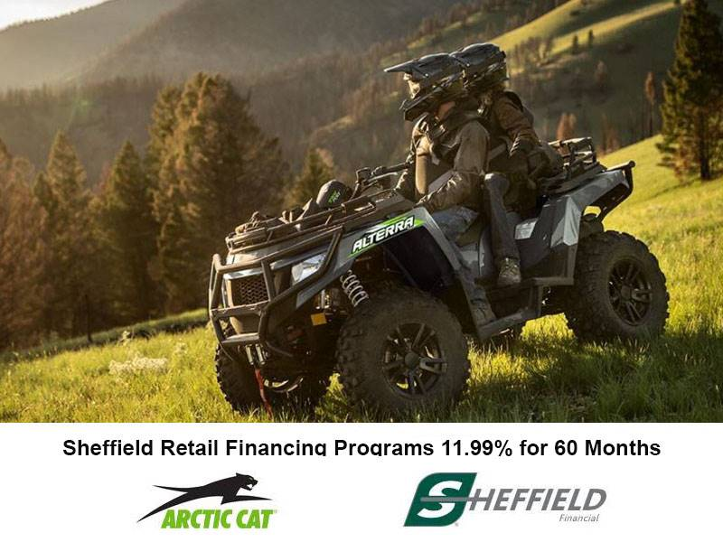 Arctic Cat - Sheffield Retail Financing Programs 11.99% for 60 Months