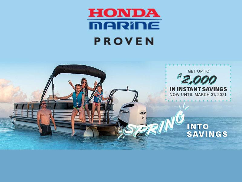 Honda Marine - Spring Into Savings