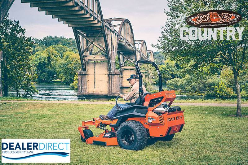 Bad Boy Mowers - Dealer Direct First Community Bank