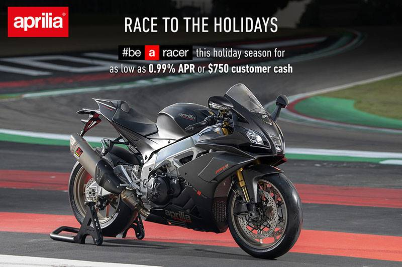 Aprilia - RACE TO THE HOLIDAYS