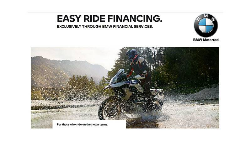 BMW - Easy Ride Financing