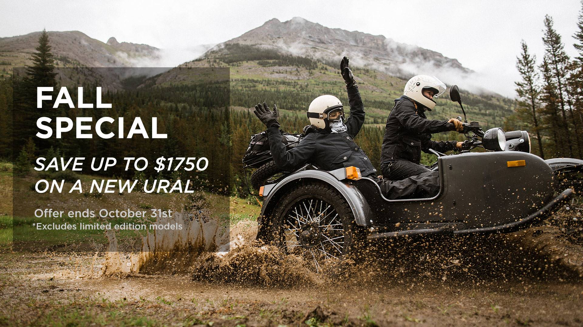 Ural Russian Motorcycles - Fall Special