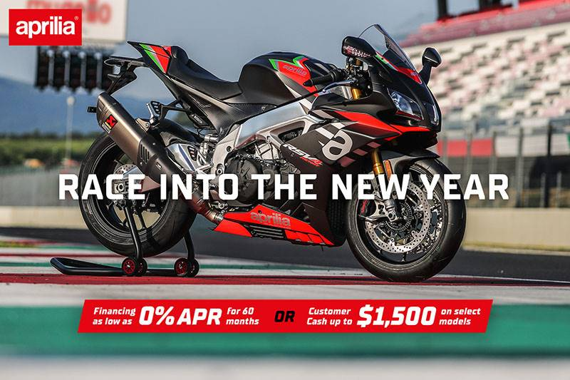 Aprilia - Race Into The New Year Continues