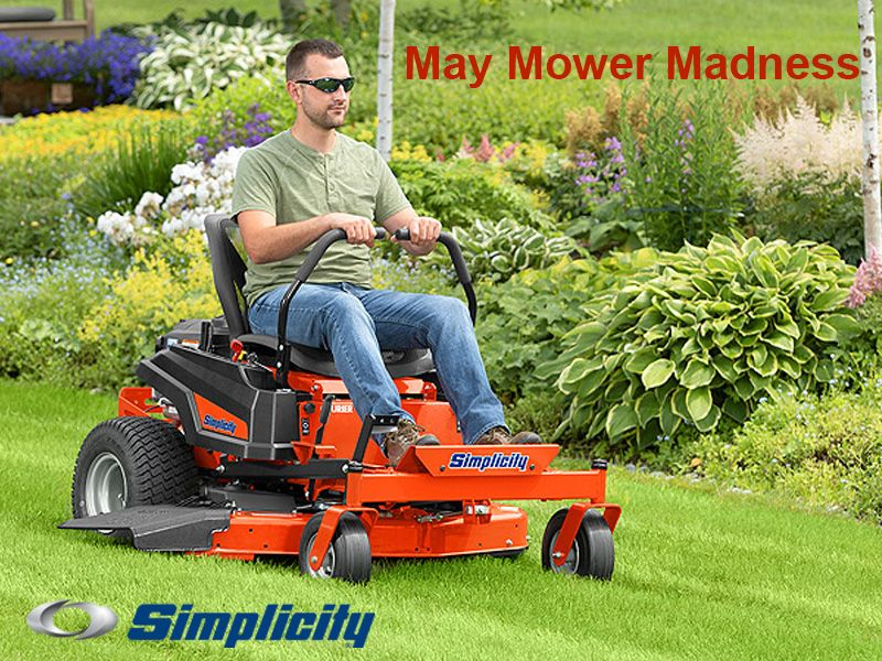 Simplicity - May Mower Madness