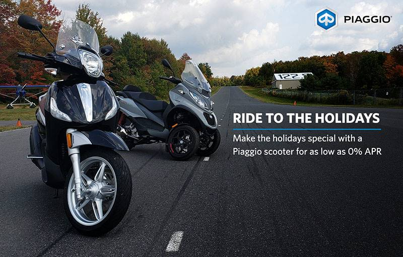 Piaggio - RIDE TO THE HOLIDAYS