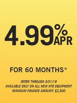 Hustler Turf Equipment Hustler Sheffield Financial - 4.99% APR for 60 Months