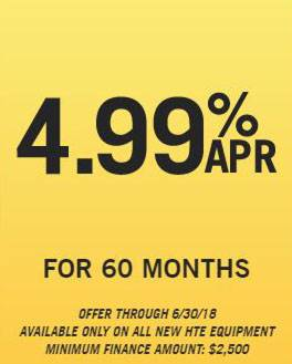Hustler Sheffield Financial - 4.99% APR for 60 Months