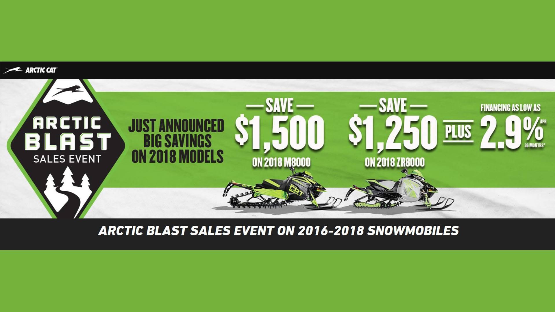 Arctic Cat - Arctic Blast Sales Event