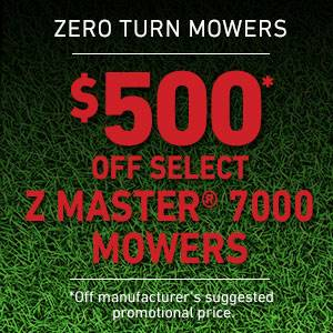 Toro - $500 USD Off Select Z Master 7000 Series Mowers
