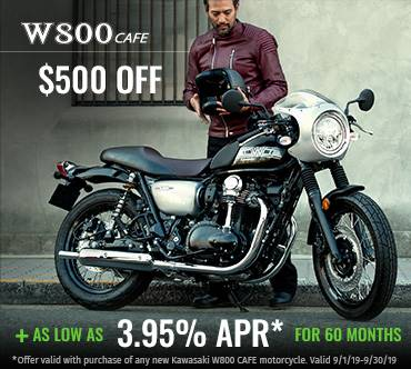 Kawasaki - As Low As 3.95% Apr For 60 Months