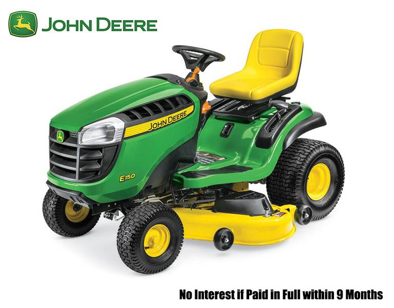 John Deere - No Interest if Paid in Full within 9 Months
