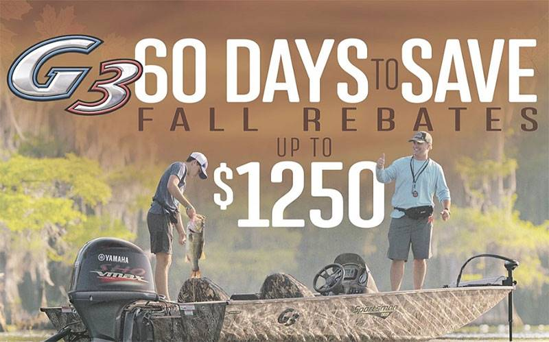 G3 Boats - Fall Promotion