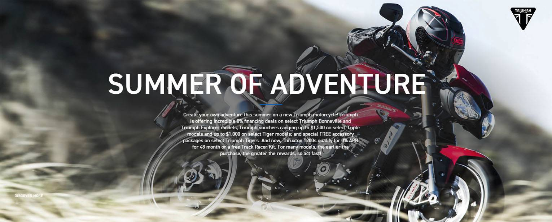 Triumph - Summer of Adventure: Find Your Triumph