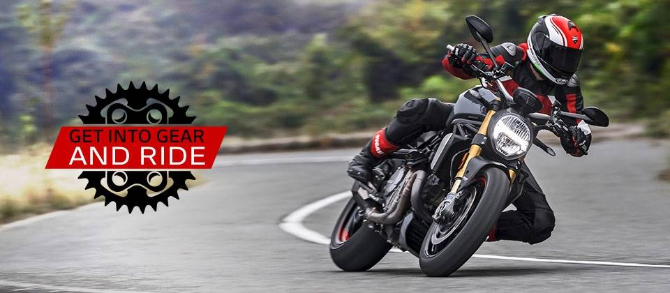 Ducati - GET INTO GEAR AND RIDE