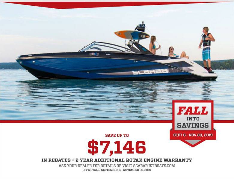 Scarab Jet Boats - FALL INTO SAVINGS