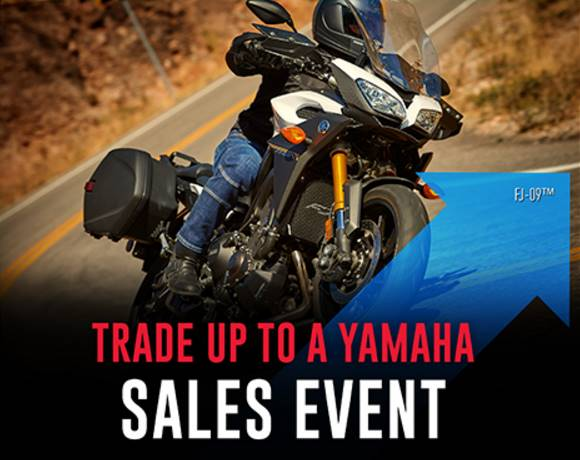 Yamaha - TRADE UP TO A YAMAHA SALES EVENT - Tour Motorcycle
