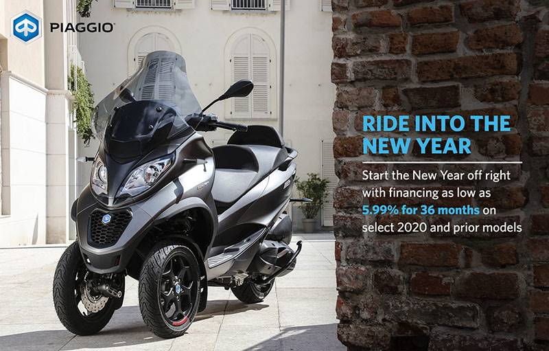 Piaggio - Ride Into The New Year