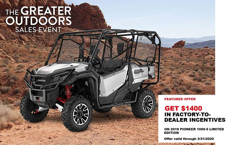 Honda - The Greater Outdoors Sales Event