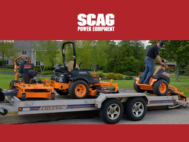 SCAG Power Equipment - Fleet Program