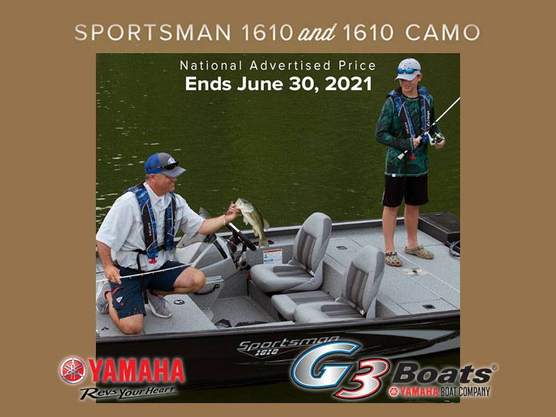 G3 - National Advertised Price - SPORTSMAN 1610 / 1610 CAMO