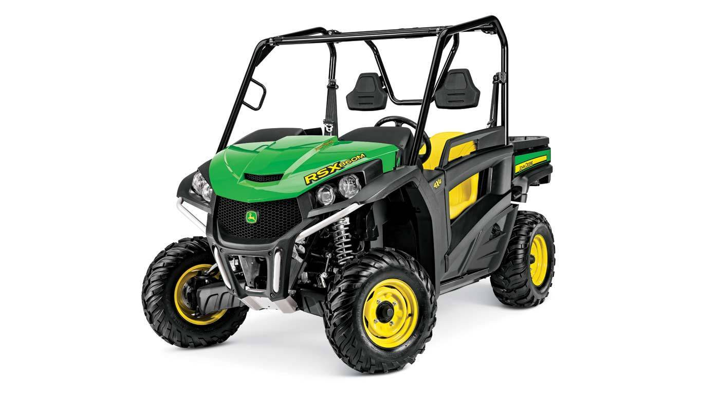 John Deere 4.90% APR fixed rate for 84 Months OR No-Interest if Paid in Full within 12 Months on New John Deere Gator Utility Vehicles
