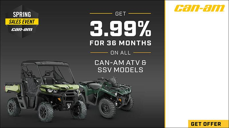 Can-Am Off-Road - Spring Sales Event