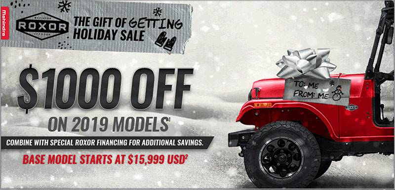 Mahindra Automotive North America - Promotions & Offers