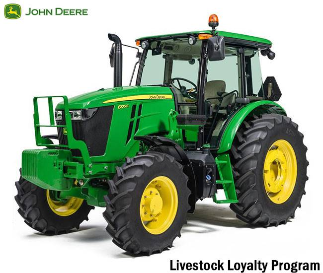 John Deere - Save $1,000 Livestocck Loyalty Program