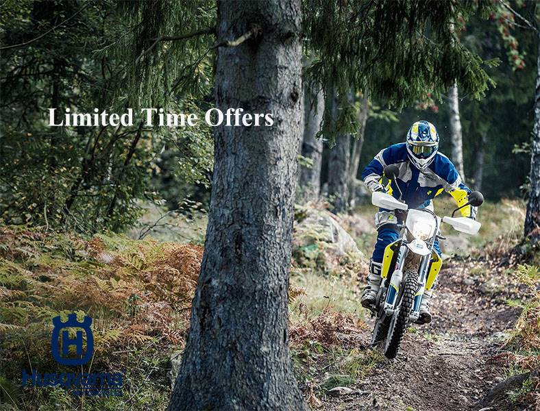 Husqvarna - Limited Time Offers